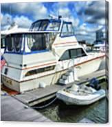 Tidewater Yacht Marina 5 Canvas Print