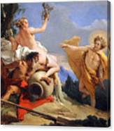 Tiepolo's Apollo Pursuing Daphne Canvas Print
