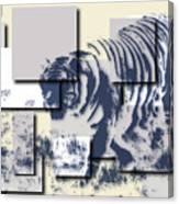 Tiger 5 Canvas Print