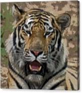Tiger Abstract Canvas Print