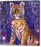 Tiger Royal Canvas Print