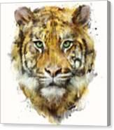 Tiger // Strength Canvas Print