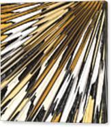 Tiger Stripes Canvas Print