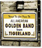 Tigerland Band Canvas Print
