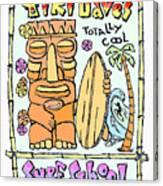 Tiki Dave's Canvas Print