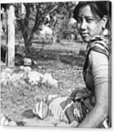 Tilak Devi 1985 Canvas Print