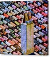 Tile Roof, Spain Canvas Print