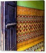 Tiled Foyer Canvas Print