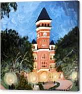 Tillman By Night Canvas Print