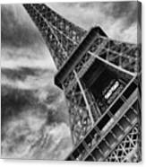 Tilted Tower Canvas Print