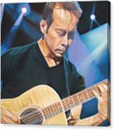 Tim Reynolds And Lights Canvas Print