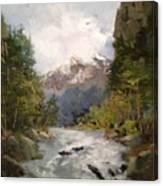 Timberlands Canvas Print