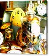 Time In A Jar Canvas Print