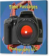 Time Passages Logo Canvas Print