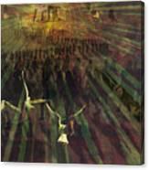 Time-space Flight Canvas Print