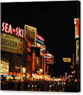 Time Square 1956 Canvas Print
