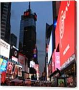 Time Square New York City Canvas Print