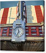 Time Theater Marquee 1938 Canvas Print