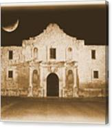 Timeless Alamo Canvas Print