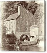 Timeless-clinton Mill N.j.  Canvas Print