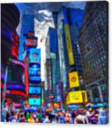 Times Square 7453 Canvas Print