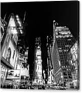 Times Square Don't Shine As Bright As You Canvas Print
