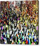 Times Square New Year's Eve Canvas Print