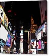 Times Square New York City New Years Eve Canvas Print