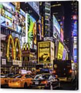 Times Square Pano Canvas Print