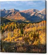 Timpanogos Autumn Sunrise Canvas Print