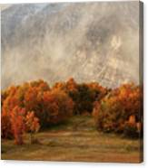 Timpanogos Veiled Canvas Print