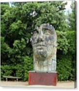 Tindaro Screpolato Sculpture In Boboli Garden 0197 Canvas Print