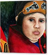 Tinglit Native Girl Canvas Print