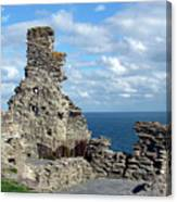 Tintagel Castle 1 Canvas Print