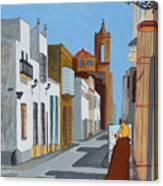 Tintin En Puerto Real Canvas Print