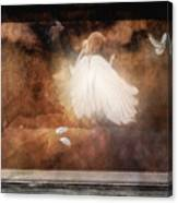 Tiny Angel Canvas Print
