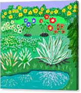 Tiny Garden  Canvas Print