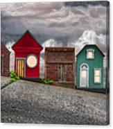Tiny Houses On Walnut Street Canvas Print