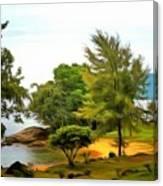 Tioman Island Beach Canvas Print
