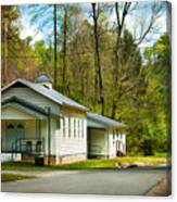 Tip Top Baptist Church Canvas Print