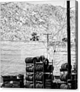 Tire Center Canvas Print