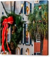 Tis The Season - Charleston Sc Canvas Print