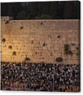 Tisha B'av At The Kotel Canvas Print