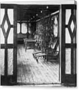Titanic: Private Deck, 1912 Canvas Print