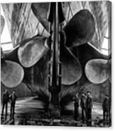 Titanic Propellers Canvas Print