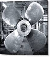 Titanic's Propellers Canvas Print