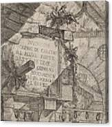Title Plate Canvas Print