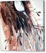 Titmouse Canvas Print