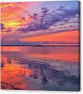Titusville Sunset Canvas Print
