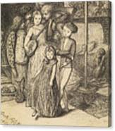 To Caper Nimbly In A Lady's Chamber To The Lascivious Pleasing Of A Lute Canvas Print